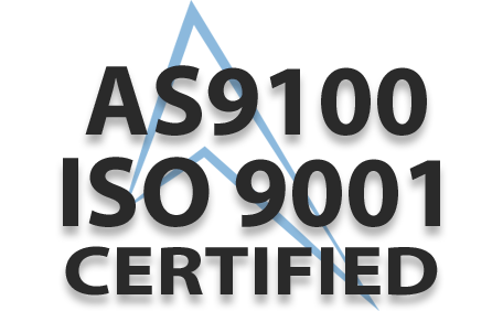 AS9100 ISO 9001 Certified Logo