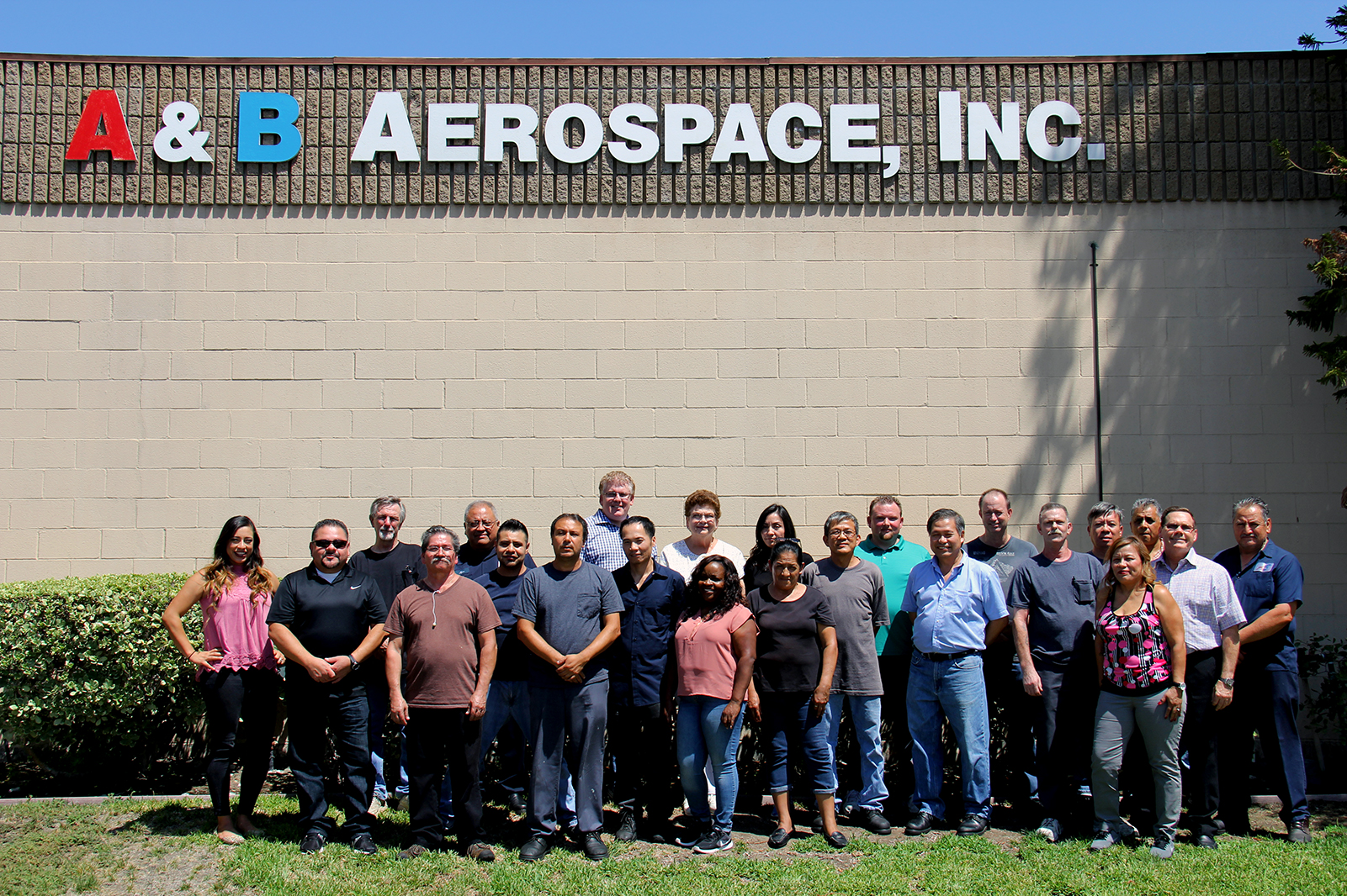 A&B Aerospace Group Photo